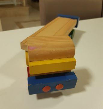 Caminhão madeira Tok stok - Sem faixa etaria - Tok Stok