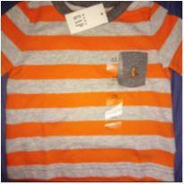 Camiseta linda Gap! - 3 a 6 meses - Baby Gap