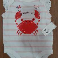 Body caranguejo Gap! - 0 a 3 meses - Baby Gap