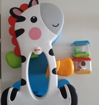 Zebra divertida Fisher price - Sem faixa etaria - Fisher Price