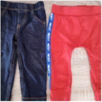 Kit calças ! - 12 a 18 meses - Carter`s e Baby Cottons