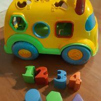 Ônibus formas e números. -  - Calesita