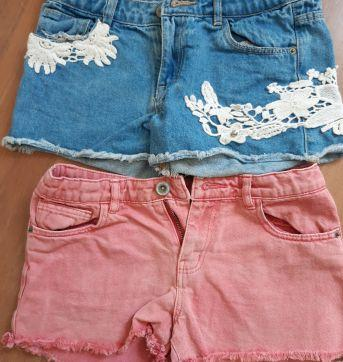 Kit shorts Zara - 8 anos - Zara