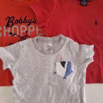 Trio Camisetas 1 ano.