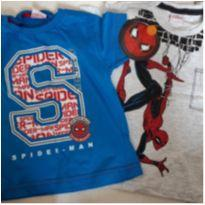 Duas camisetas novas! - 1 ano - MARVEL