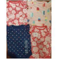 Kit bodys Gap menina! - 3 a 6 meses - Baby Gap