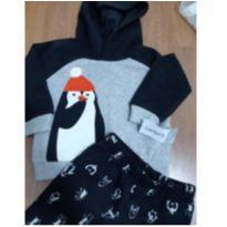 Conjunto Pinguim inverno Carters. - 1 ano - Carter`s