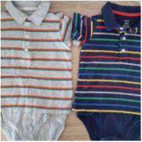 Kit body polo. - 2 anos - Carter`s