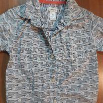 Camisa Peixinho Carters - 18 a 24 meses - Carter`s
