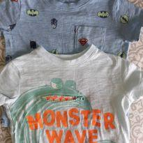 Kit camisetas Gap - 12 a 18 meses - Baby Gap