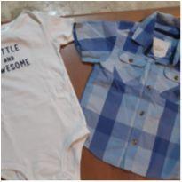 Dupla Camisa+Body Cartes - 2 anos - Milon e Child of Mine