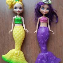Mini barbies sereias. -  - Mattel
