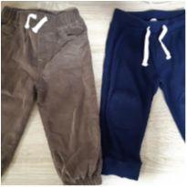 Kit calças Carters e Gap - 18 meses - Carter`s e Baby Gap