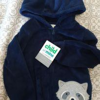 Casaco fleece novo. 2T - 18 a 24 meses - Child of Mine