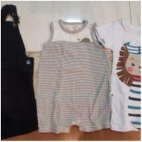 Trio Macaquinhos. - 9 a 12 meses - Baby Gap e PUC