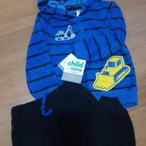 Conjunto fleece Carters - 18 a 24 meses - Child of Mine