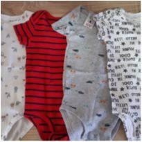 Kit bodys Carters - 18 meses - Carter`s