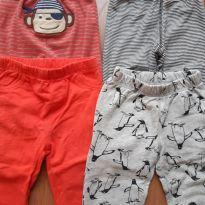 Quarteto calças Carters - 18 meses - Carter`s