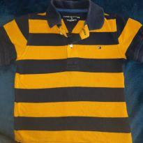 Polo Tommy listrada - 24 a 36 meses - Tommy Hilfiger
