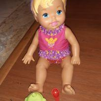 Boneca lillte Mommy suquinho -  - little mommy