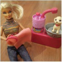Barbie banho de cachorrinho -  - Barbie