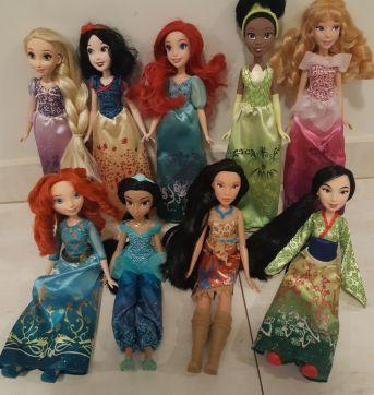 Kit  princesas Disney ♡ - Sem faixa etaria - Disney