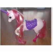 Cavalo unicórnio barbie -  - Barbie