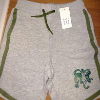 Shorts Gap dinossauro - 3 anos - Baby Gap