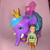 Elefante Chelsea e boneco -  - Mattel