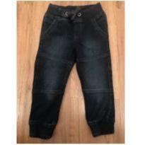 """calça em moletom """"tipo jeans"""" - muito versátil - tam 18-24 mêses - 18 a 24 meses - lupilu"""