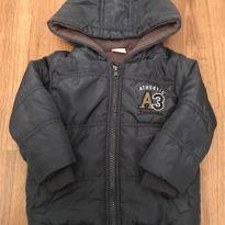 jaqueta nylon com capuz e forrada - tam 1 - brandili - 1 ano - Brandili