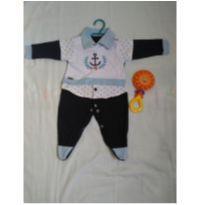 Saída de maternidade tema náutico - 0 a 3 meses - DJIELE