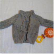 Lindo casaquinho em lã - 3 a 6 meses - Marca não registrada