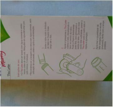 Bombinha Tira Leite Tira Leite Manual Lillo Com Tampa - Sem faixa etaria - Lillo