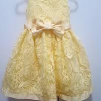 Vestido luxo festa - 1 ano - Petit Cherie