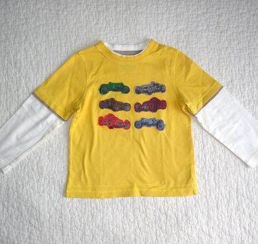 Camiseta Longa Mothercare 3/4 anos