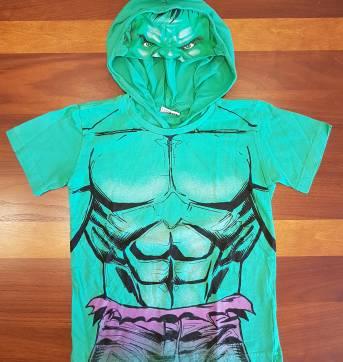 Camiseta Fantasia Hulk 6 anos