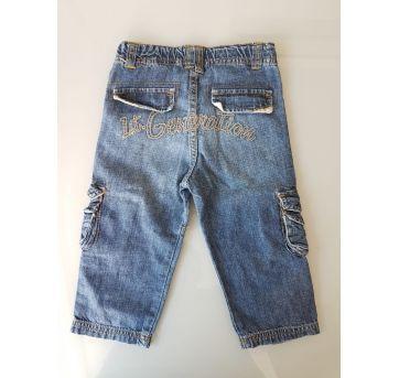 Calça Jeans Cargo Zara 12 a 18 meses - 12 a 18 meses - Zara Baby