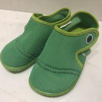Sapatinho Verde Jacaré - 25 - Tribord