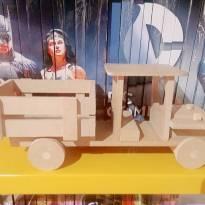 Caminhão de madeira -  - Artesanal