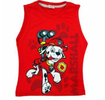 Camiseta Regata Patrulha Canina NOVA Tam 6 - 6 anos - Não informada