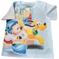 Camiseta Infantil Mickey Nova - 1 ano - Disney