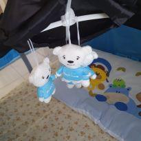Berço Portátil Baby Style Azul -  - Baby Style