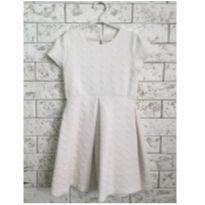 Vestido Zara Off-white tamanho 8 - 8 anos - Zara