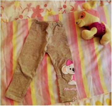 Calça legging - 1 ano - Lilica Ripilica