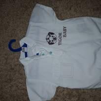 Linda camisa tigor baby - 3 a 6 meses - Tigor Baby