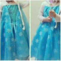 Fantasia Elsa Frozen - 4 anos - Brink Model