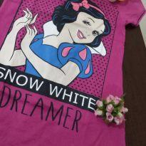 Camisola Branca de Neve - 4 anos - Não informada