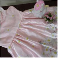 Vestido Rosa Claro com pérolas - 4 anos - Pump