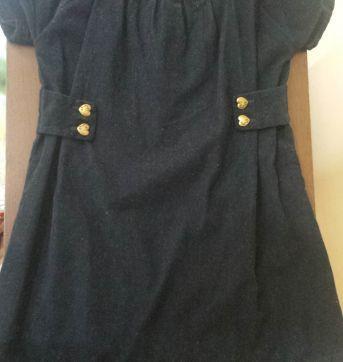 Vestido azul elegante - 4 anos - Palomino
